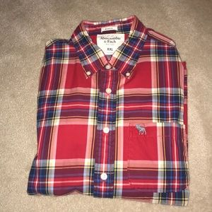 like-new Abercrombie and Fitch Muscle Button Down